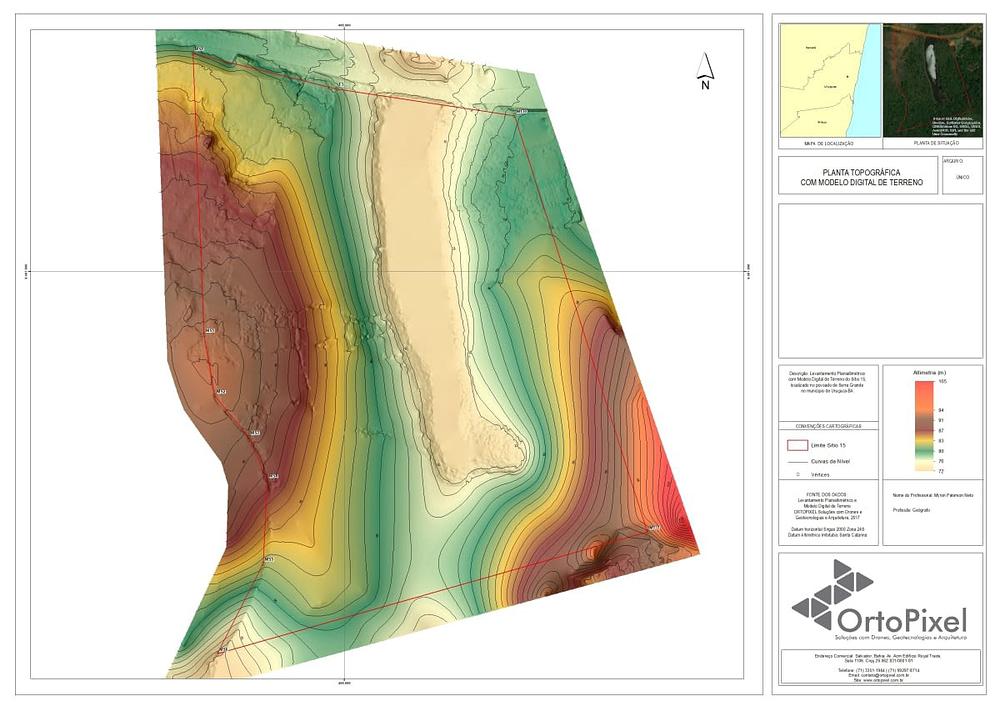 Expertise em levantamento topografico