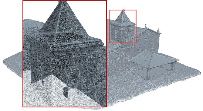 MDS da estrutura de uma igreja