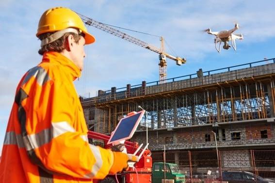 Drones e BIM eficiência e economia no canteiro de obras