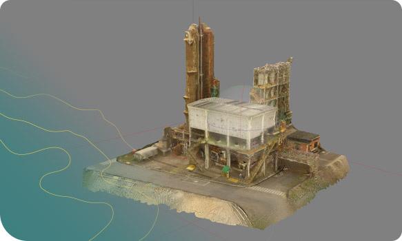 Ortopixel gestão construção civil