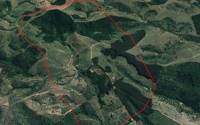 Topografia e Ortomosaico Georreferenciado com Drone para Mineração.