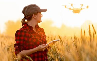 Drones na agricultura: Melhore sua produção com eles