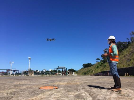 Monitoramento do canteiro de obras é um dos serviços do drone na contrução civil