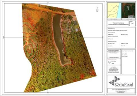 Uso de drone na construção civil: levantamento planialtimétrico topográfico