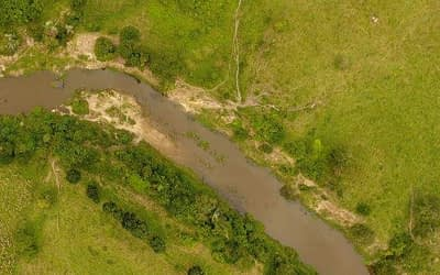 Ortomosaico Georreferenciado com Drone para Meio Ambiente.