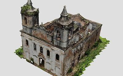 Cadastro arquitetônico Igreja de Itaperoá
