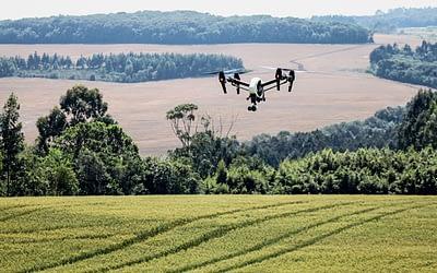 Drones são soluções sustentáveis para o meio ambiente