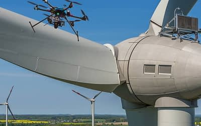 Energia eólica e solar ganham eficiência com uso de drones